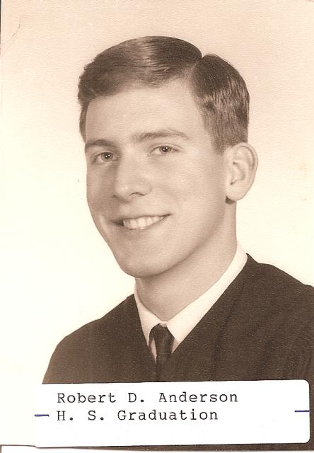 Bob's High School Graduation Picture... what nice looking guy.